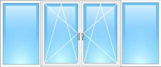 двери на балкон киев